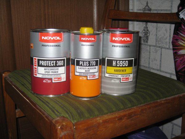 Пластифікатори для ПВА-фарб