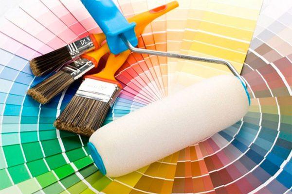 Кольори фарб для зовнішніх робіт