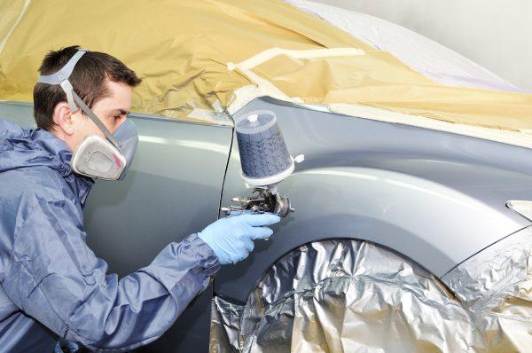 Фарбування автомобіля нітроемаллю