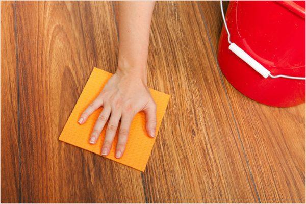 Очищення ламінату перед фарбуванням