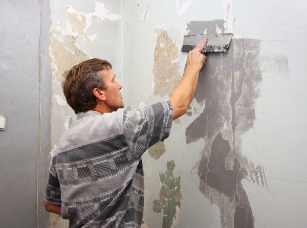 Підготовка стін до фарбування