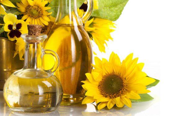 Соняшникова олія для приготування оліфи