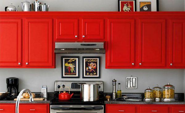 Пофарбувати фасад кухні