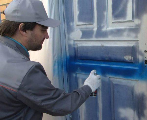 Технологія фарбування аерозольною фарбою