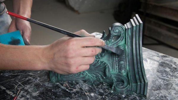 Декорування металу фарбою
