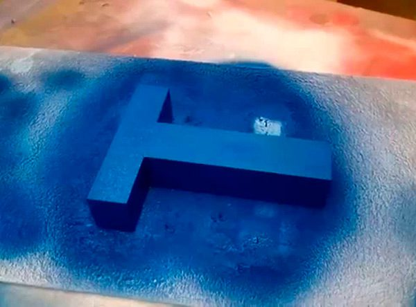 Фарбування спіненого пінополістиролу