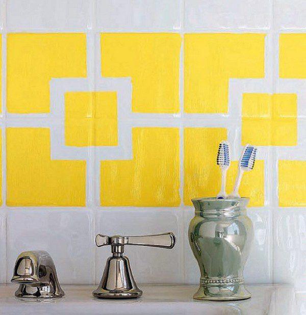 Акрилова фарба для плитки у ванній