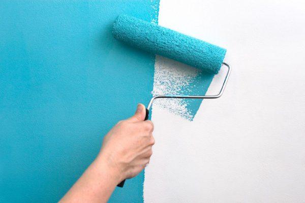 Фарбування латексної фарбою стін