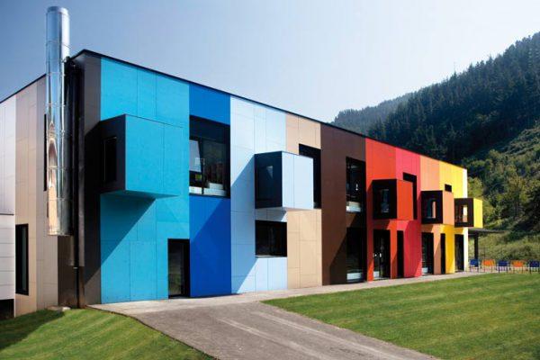 Кольорове рішення для фасадів