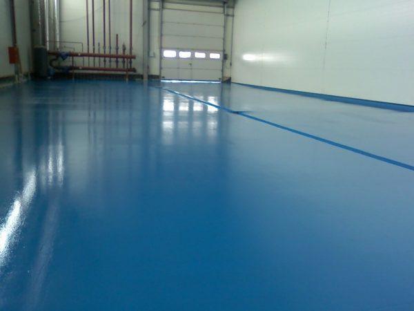 Пофарбований бетонну підлогу