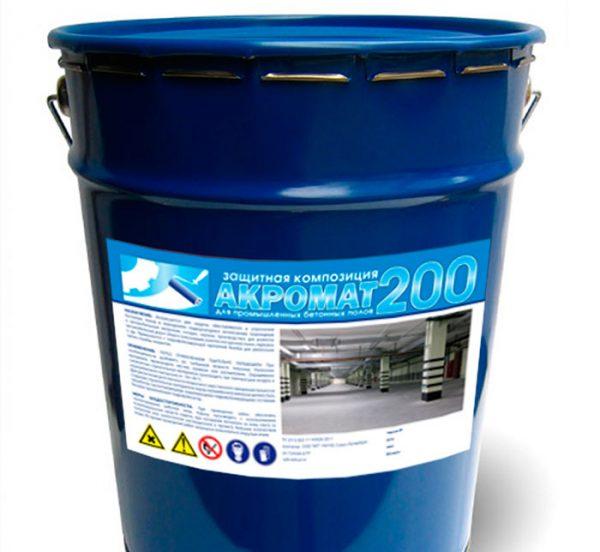 Поліуретанова емаль по бетону
