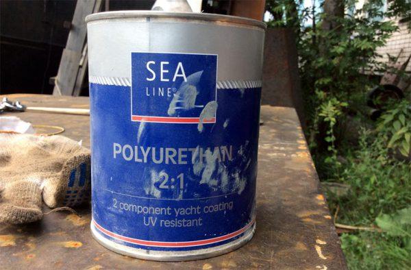 Поліуретанова фарба для внутрішніх робіт