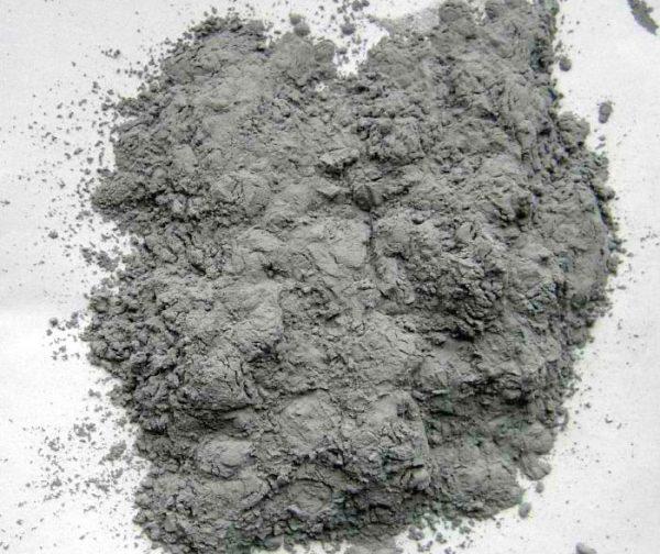 Сріблястий порошок алюмінію