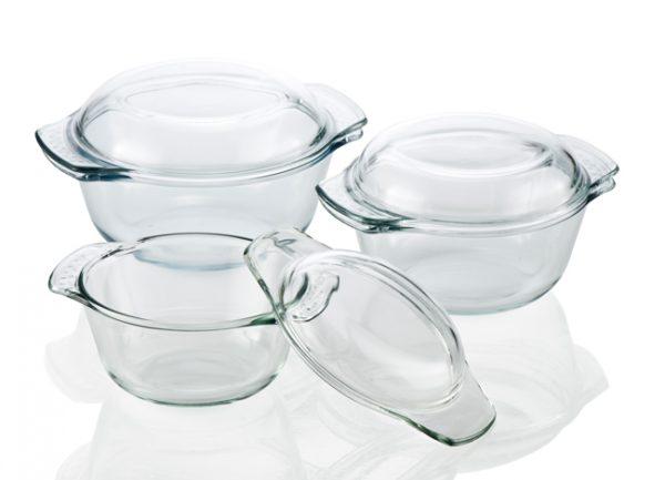 Посуд зі скла