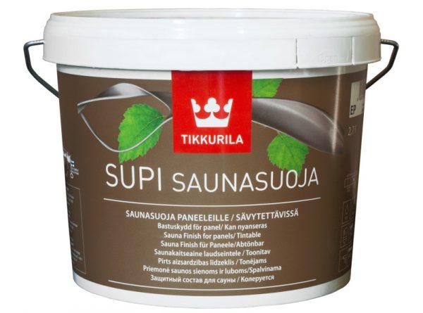Просочення «Supi Saunavaha» для обробки полиць і лавок в лазні