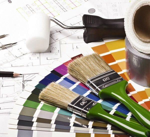 Підрахунок витрати фарби