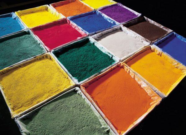 Епоксидна порошкова фарба різних кольорів