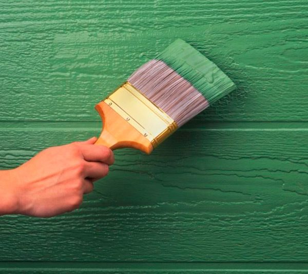 Фарба для дерева на гумовій основі