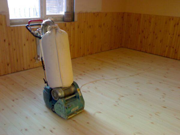 Шліфувальна машинка для підлоги