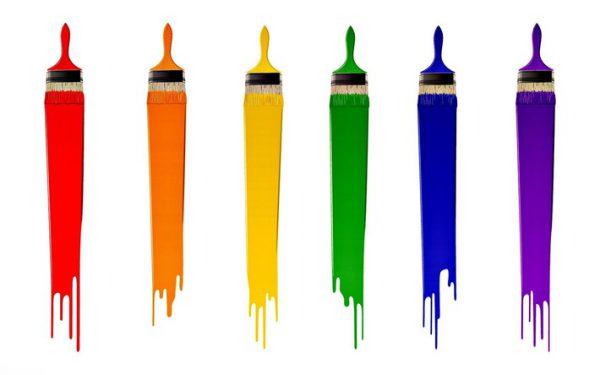 Силікатні фарби різних кольорів