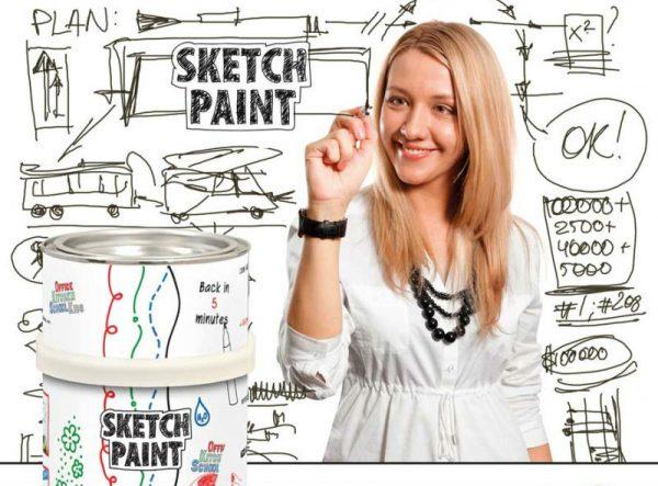 Спеціальна фарба Sketch Paint