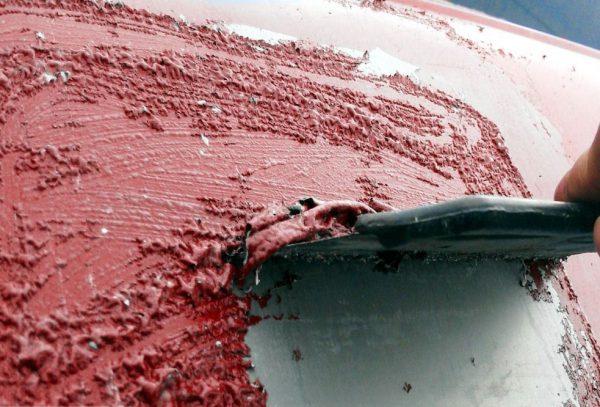 Видалення старої фарби змиванням