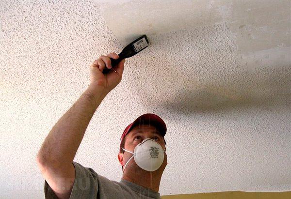 Перед початком всіх робіт, потрібно зняти старе покриття