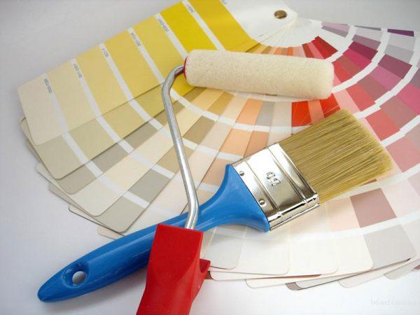 Вибір кольору для фарбування