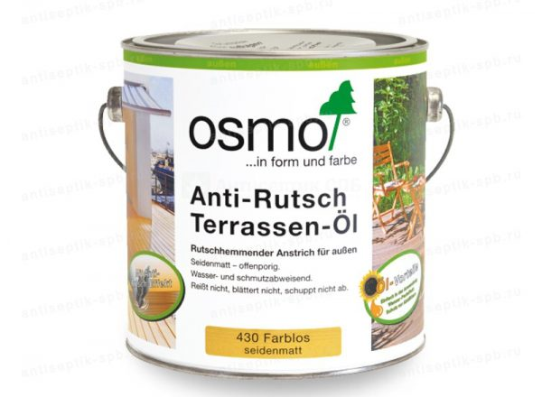 Масло для терасної дошки Osmo Anti-Rutsch