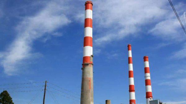 Фарба для промислових димових труб