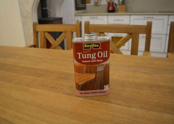 Тунгове масло для дерева