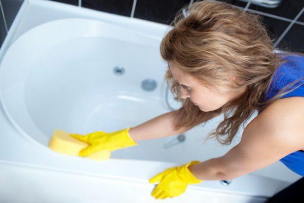 Видалення іржі з ванни