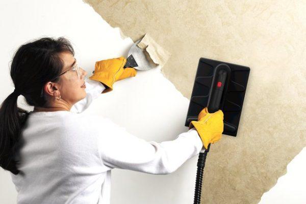 Видалення водоемульсійною фарби з бетону