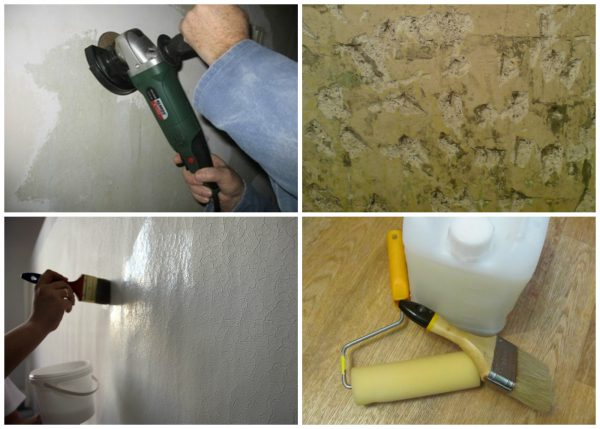 Підготовка поверхні з масляною фарбою