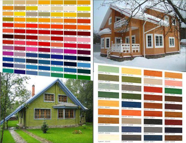 Вибираємо колір фарби
