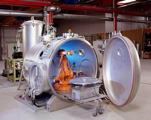 Вакуумна камера для металізації
