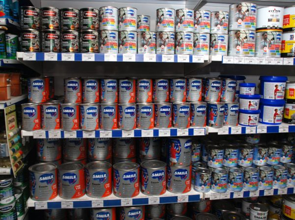 Підбір фарби для оцинкованої покрівлі