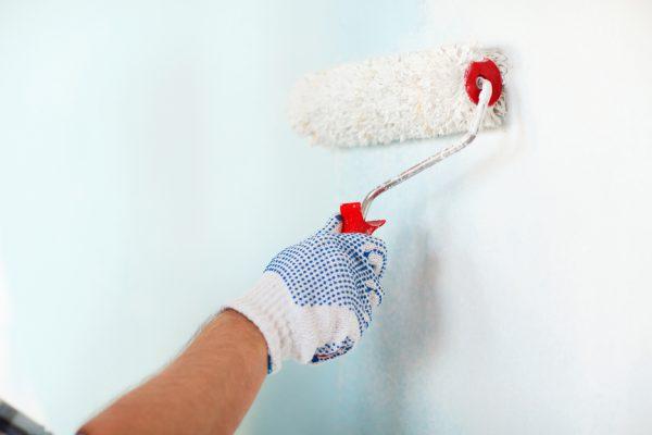 Водоемульсійна фарба для шпалер під фарбування