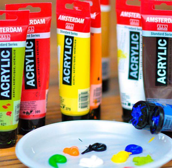 Водорозчинні фарби для художників