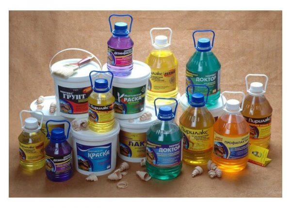 Набір водорозчинних лаків сумішей