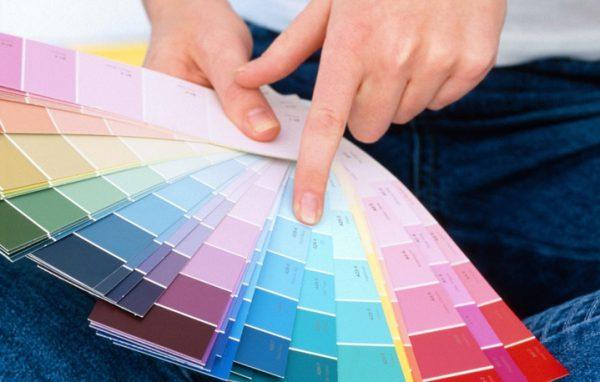 Фактура і колір фарби