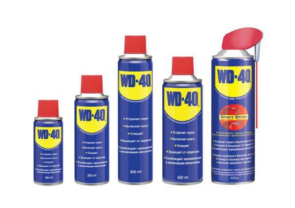 Антикорозійні засоби WD-40
