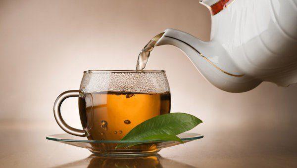 Заварка чаю для створення коричневого відтінку