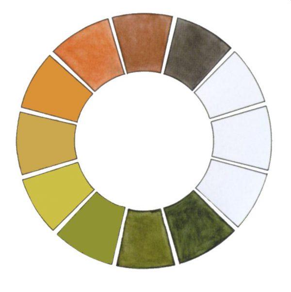 Земляна палітра кольорів