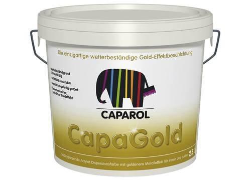 Золота акрилова фарба для внутрішніх і зовнішніх робіт