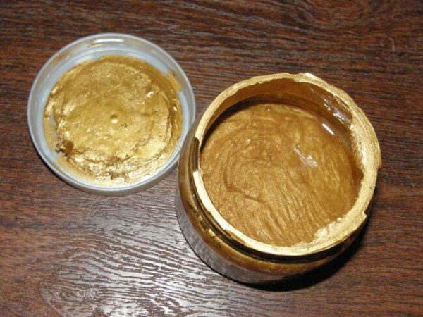 Акрилова декоративна фарба золота